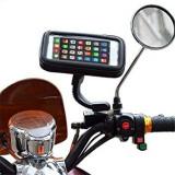 Cumpara ieftin Suport Telefon Pda,Gps,Mobil,Mp4,Waterproof Motocicleta,Scuter,Atv