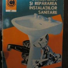 Intretinerea si repararea instalatiilor sanitare nr 87