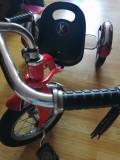 Tricicleta rosie copii 3-4 ani de vanzare, KidsCare