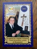 CORNELIU VADIM TUDOR, SEMNATURA OLOGRAFA PE CALENDAR