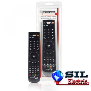 Telecomanda universala programabila prin IR 2:1 Konig