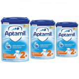 Lapte praf Aptamil Junior 2+, 3 pachete x 800 g