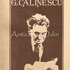 Cumpara ieftin Viata Lui G. Calinescu - Ion Balu