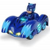 Masina Eroi in Pijama Mission Racer Cat - Car cu Figurina