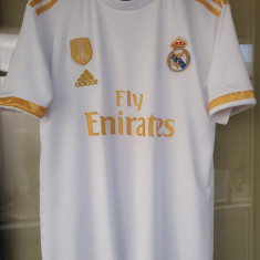 Tricou Real Madrid model 2020 (embleme brodate)