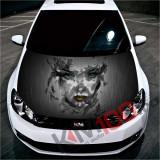 """Sticker Imprimat Color pentru Capota """"Hood Art"""" cod: KM-HOOD-29"""