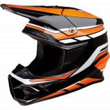 Casca Atv/Cross Z1R F.I., marimea XL, culoare negru/portocaliu Cod Produs: MX_NEW 01105714PE