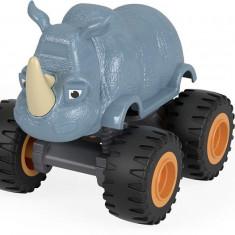 Masinuta metalica Rhino Truck Blaze si Masinile Uriase