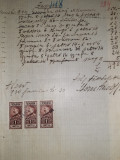 D2 Timbre fiscale Ferdinand  pe document 1930