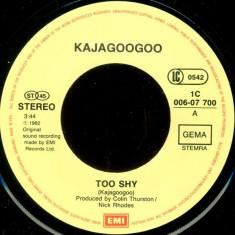 "Kajagoogoo - Too Shy (1982, EMI) Disc vinil single 7"""