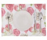 Set 2 suporturi farfurii Flowery Pink 33x45 cm