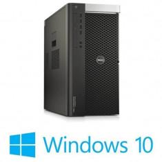 Workstation refurbished Dell Precision T7810, 2x Xeon E5-2609 v3, Win 10 Home