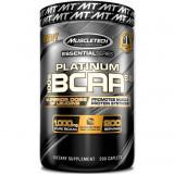 Muscletech 100% Platinum BCAA 8:1:1, 200 Capsule