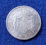 Moneda din Argint 500 Lei 1944  Regele Mihai
