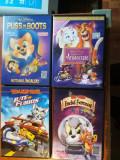 Desene animate : 4 filme cu Tom si Jerry(vezi foto si specificatii), DVD, Romana, disney pictures