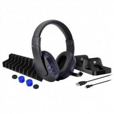 Kit / Set gaming DOBE 5 in 1 pentru Playstation PS4 / Slim / Pro