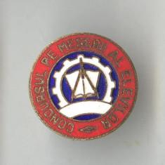 Insigna PIONIERI  - CONCURSUL pe MESERII AL ELEVILOR