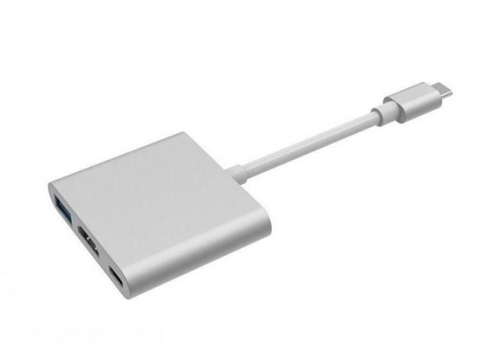 OEM Adaptor USB-C / USB 3.0 + HDMI + USB-C