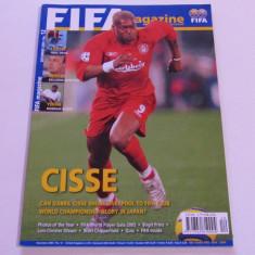 Revista-Magazin oficial fotbal-FIFA (decembrie 2005)