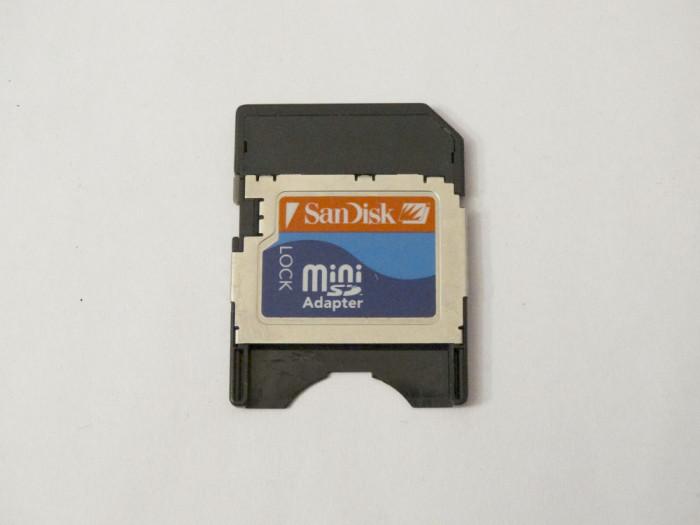 Adaptor Card memorie Mini SD la SD