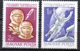 UNGARIA 1965, Cosmos, Vashod-2, MNH, serie neuzata, Nestampilat