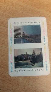 CCO - CALENDARE FOARTE VECHI - ANUL 1966