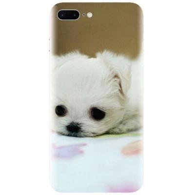 Husa silicon pentru Apple Iphone 8 Plus, Puppies 001 foto