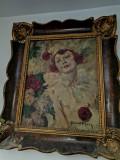 Tablou Arlechino, Portrete, Ulei, Altul
