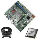 Kit Placa de Baza Refurbished Medion MS-7633, Intel Dual Core E5700, Cooler