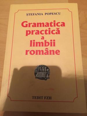 Gramatica practica a limbii romane foto