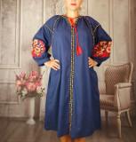 Cumpara ieftin Rochie traditionala Margareta, 2XL, L, XL