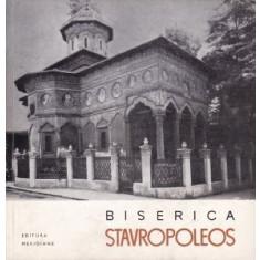 Biserica Stavropoleos Razvan Theodorescu