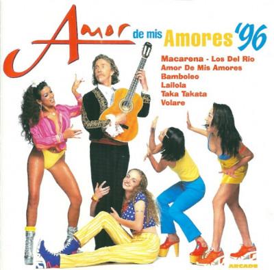 CD - Various – Amor De Mis Amores '96 foto