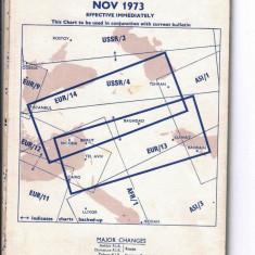 ANGLIA 1973 - GHID DE ZBOR. GRAFICE DE NAVIGATIE RADIO DE JOASA ALTITUDINE, N27