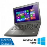 Laptop Refurbished LENOVO ThinkPad T440P, Intel Core i5-4200M 2.5GHz, 4GB DDR3, 256GB SSD + Windows 10 Home