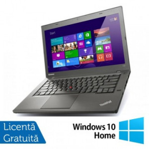 Laptop LENOVO ThinkPad T440P, Intel Core i5-4200M 2.5GHz, 8GB DDR3, 320GB SATA, DVD-RW, 14 Inch + Windows 10 Home
