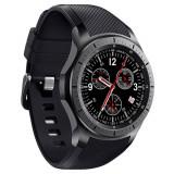 Smartwatch Telefon cu Android iUni DM368, AMOLED 1,39 inch, WIFI, 3G, GPS, Bluetooth, Monitorizare Puls, Negru