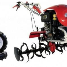 Motocultor Loncin LC1440 Diesel, 9.5 CP, cu roti 5.00 - 12