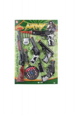 Set arme de jucarie cu pusca si ventuze 38x58x4 cm foto