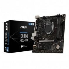 Placa de baza msi b360m pro-vd socket: 1151 v2 intel®, Pentru INTEL, LGA 1151