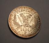 Franta 100 Franci Francs 1984 UNC Marie Curie Argint Piesa de Colectie