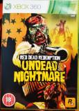 Red Dead Redemption Undead Nightmare, XBOX 360, original, alte sute de titluri
