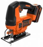 Cumpara ieftin Ferastrau pendular Black & Decker BDCJS18-QW, 18 V, acumulator 2 Ah, incarcator 400 mAh, lama lemn