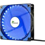 Ventilator Inter-Tech L-12025 120mm iluminare albastra