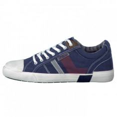 Pantofi sport barbati, din textil, s.Oliver, 13609-42-15, bleumarin