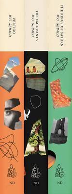 Three Book Sebald Set: The Emigrants, the Rings of Saturn, and Vertigo foto