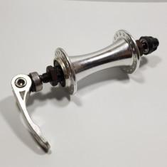 Butuc Fata Bicicleta - cu Bile - Aluminiu - Prindere Rapida - 36 gauri