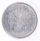 Moneda Franta 100 Franci 1983 - KM#951.1 UNC ( argint , in holder ), Europa