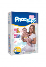 320Buc Scutece Paddlers, -35%, Mini, 3-6 kg, varsta 0-3 luni, Marime 2 foto