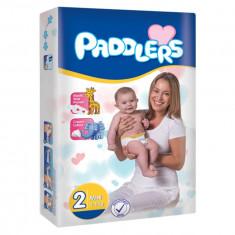 320Buc Scutece Paddlers, -35%, Mini, 3-6 kg, varsta 0-3 luni, Marime 2